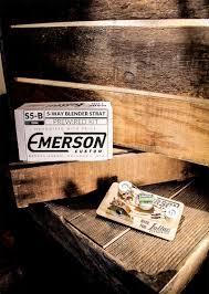 emerson 5 way blender prewired kit for strat