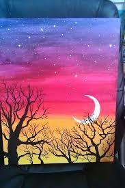 canvas art ideas for beginners easy painting regarding design 16
