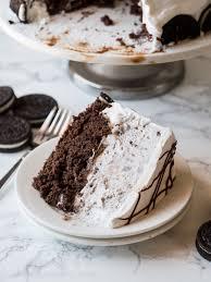 Homemade Oreo Ice Cream Cake I Wash You Dry