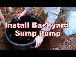 backyard sump pump. Brilliant Pump How To Replace Or Install Your Backyard Sump Pump Intended H