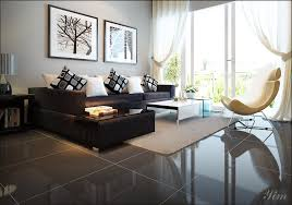 modern living rooms with black sofas amazing home interior
