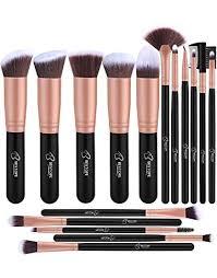 makeup brushes bestope makeup brush set professional 16 piece make up brushes premium synthetic foundation