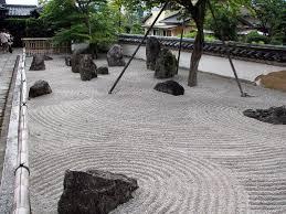 komyozen ji rock garden in uoka japan