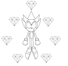 super sonic coloring pages shared by and shadow