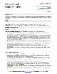Data Analyst Resume Template Data Analyst Resume Sample