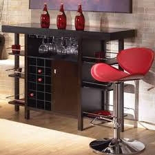 chair bar red leather furniture for home bar ideas bar furniture designs home