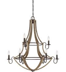 quoizel shr5009rk shire rustic black 9 light chandelier undefined