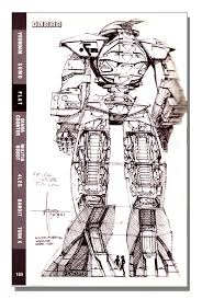 mead gundam by syd mead art book