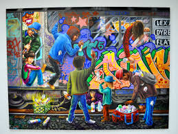massive work cool colors. Work By Lady Pink In Massive Cool Colors