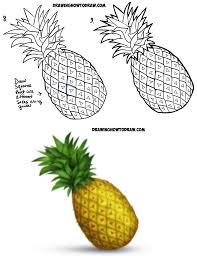 pineapple drawing. howtodraw-pineapple-emoji-stepbystep-02jpg pineapple drawing m