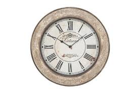 Simple and easily read is what the. 24 Inch Lotion Wall Clock Living Spaces