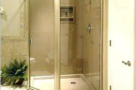 cost to replace shower stall install new glass