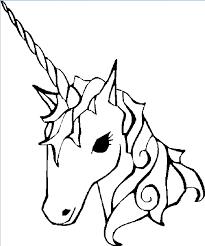 Print Coloring Page And Book Unicorn
