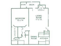 1 bedroom 1 bath 900 sq ft