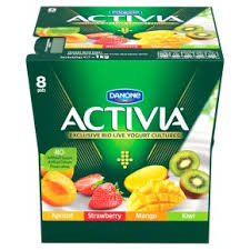 activia strawberry mango apricot and kiwi yogurt variety pack