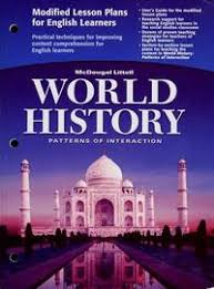 World History Patterns Of Interaction Answer Key Unique 48 McDougal Littell World History Patterns Of