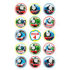 thomas the tank engine and friends edible cupcake toppers thomas the tank engine edible image