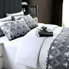 black and white duvet covers king free classic black and white bedding sets household duvet