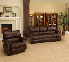 Italian Living Room Furniture Sets Abbyson Living Ashley Italian Leather 2 Piece Sofa And Armchair