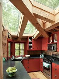 Red country kitchens Duck Egg Blue Red The Spruce 17 Inspiring Red Kitchen Ideas