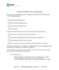 Commercial Lease Credit Check Form Edunova Co