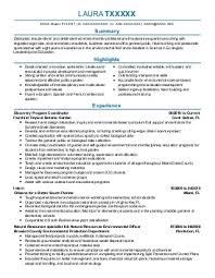 environmental research resume sample - Sample Environmental Scientist Resume