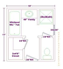 bathroom designs and floor plans for 8 x 10 – Readvillage