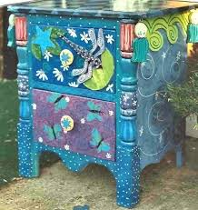 whimsical painted furnitureflower painted furniture  PAINTED FURNITURE  painted furniture