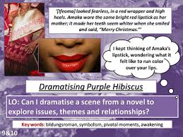 gcse literature purple hibiscus by a chancer teaching resources gcse literature purple hibiscus by a chancer teaching resources tes