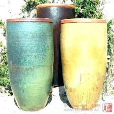 sightly tall ceramic pots large flower stupendous garden pot planters home depot ce