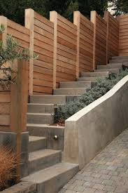 retaining wall on a steep slope