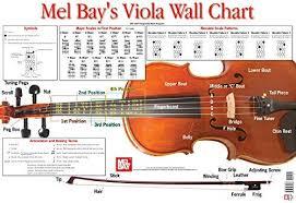 Amazon Com Viola Wall Chart 9780786684038 Martin