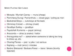 Slang names for gay people