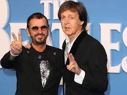 Veiling demo Ringo Starr en Paul ...