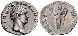Resultado de imagen para MONEDAS ROMANAS CON PONTIFEX MAXIMUS