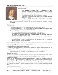 philosophy of realism defination and brief history   7 d reno descartes