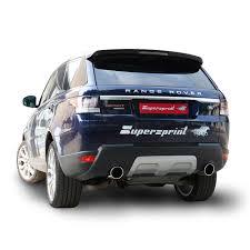 Performance sport exhaust for Range Rover Sport Mk2 TDV6, RANGE ...