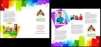 Child Care Brochure Design Child Care Brochure Template 9