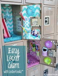 easy locker glam for tweens with lockerlookz