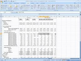 forecast model in excel how to build a basic financial projection business finance youtube