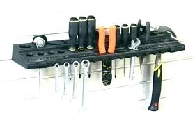 hair appliance holder wall mount salon tool ed dryer organizer