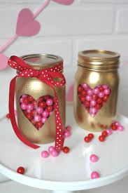How To Decorate Canning Jars Valentine's Day Mason Jars 92