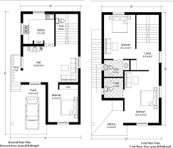 Floor Plans Of Houses In India Indian Home Design Duplex Plan House Chennai