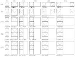 Door Casement Sizes Pgt Window Size Chart Window Sizes