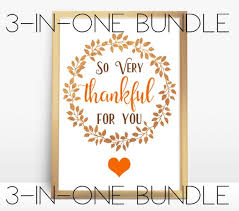Printable Thanksgiving Cards Printables Thanksgiving Card Sign Tags Bundle Thankful For You Set 8 X 10 Card Thankful Greeting Cards Holidays Diy Decor Art