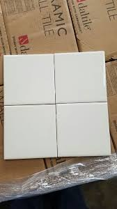 6 x6 daltile 0100 white ceramic tile for in baldwin park ca offerup