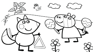 Printable Peppa Pig Coloring Pages Pig Coloring Pages Printable