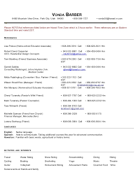 Vonda Barber Resume 2014