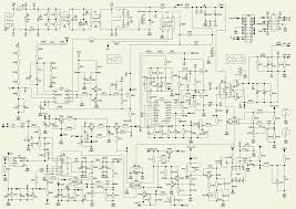 lcd tv smps circuit and wiring diagram wiringdiagram net schematic diagram for philco ph46 led lcd tv smps