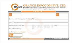 receipt book printing receipt book printing services in hansapuri nagpur id 8496002088